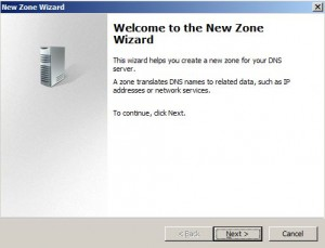 Figure 3 - New Zone Wizard